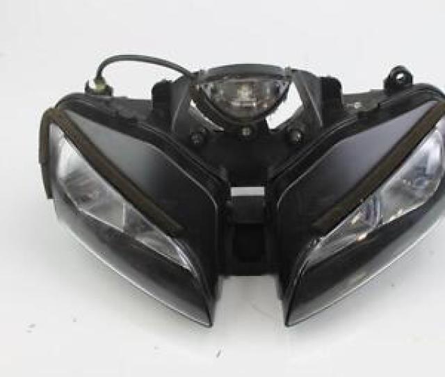 Image Is Loading 2004 Honda Cbr600rr Front Headlight Head Light Lamp