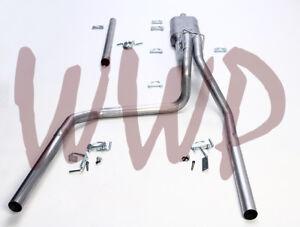 details about dual cat back exhaust muffler system kit 94 01 dodge ram 1500 5 2l 5 9l v8