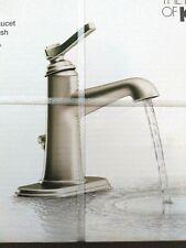 kohler georgeson single handle bathroom faucet vibrant brushed nickel finish