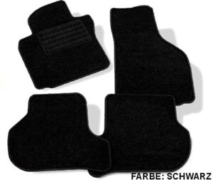 details sur 4 tapis de sol moquette seat leon 2 de 2005 a 2010
