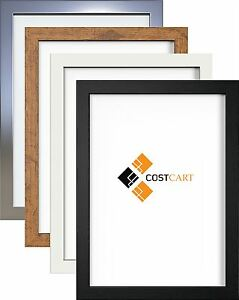 details about poster frame photo frames modern picture frame wood effect various square sizes