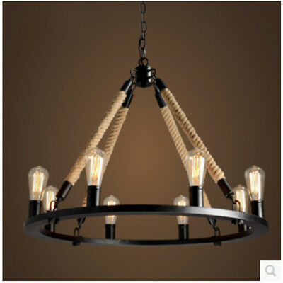 rope chandelier pendant light