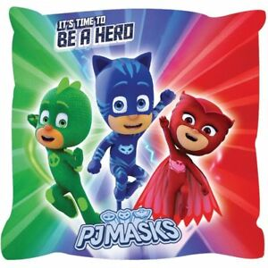 details about kids pj masks characters cushion pillow childrens gift new official