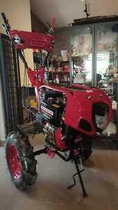 Motoculteur Motobineuse Cultivateur 10cv Avec Des Couteaux Et Des Roues Neuf Ebay