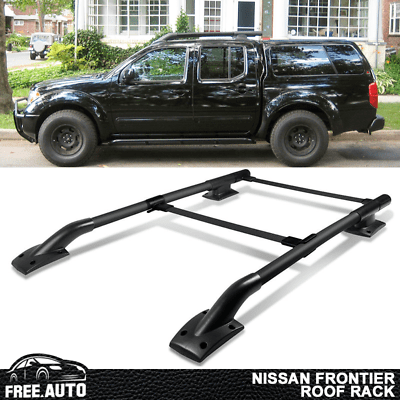 fits 05 17 nissan frontier 4dr roof rack 2pc oe factory style ebay
