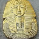 Egyptian Pharaoh Gold Coin Ming Dynasty Hieroglyphics King Tutankhamun Tomb USA