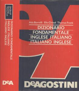 Dettagli Su Dizionario Fondamentale Inglese Italiano Italiano Inglese Ada Borrelli Eli