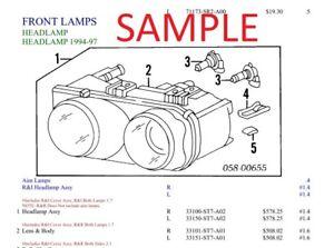 Range Rover Sport Parts List Manual