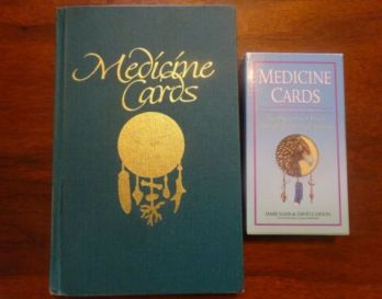 Medicine-Cards-by-Jamie-Sams-amp-David-Carson-w-Full-Set-of-Animal-Cards-C6