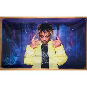 details zu juice wrld 999 rap 3x5 feet wall flag banner poster college dorm
