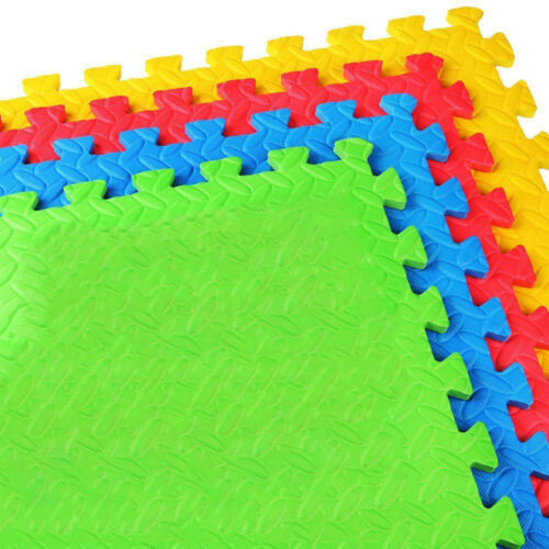 grand interlocking leaf olive eva doux mousse tapis de sol gym enfants exercice play sports vacances fitness athletisme yoga