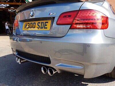 bmw m3 eurostyle exhaust tips for sale e92 e93 m3 ebay