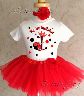 Purchase Ladybug First Birthday Outfit Up To 69 Off