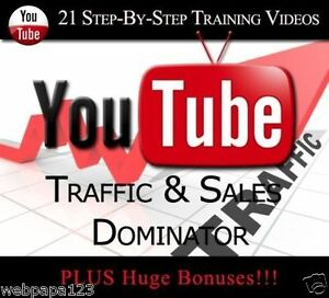 Make Money-YOUTUBE MASTER TRAINING GUIDE FOR TRAFFIC AND SALES