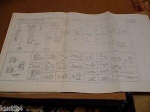 1975 Ford F500 F600 F700 truck wiring diagram schematic