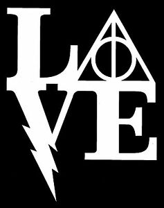 Download Harry Potter Love Decal Sticker | eBay