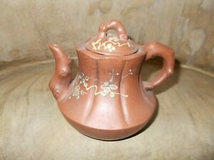 Yixing Chinese Teapot with Flowers