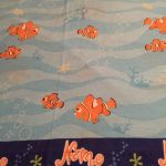Disney Pixar Finding Nemo Fish Twin Bed Size Flat Sheet Only Diy Fabric Material For Sale Online