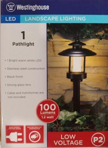 ledhill westinghouse led landscape lighting 2 pack 100 lumen use only 1 2 watt outdoor lighting equipment outdoor yard lights