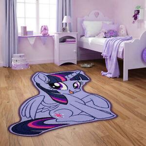 details sur enfants filles my little pony violet chambre salle de jeu de tapis en forme de caoutchouc antiderapante afficher le titre d origine