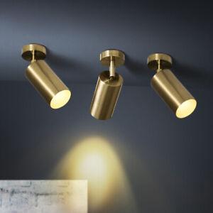 details about modern 1 light led stage track lighting fixture brass ceiling light spot light