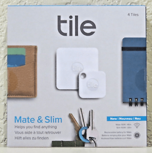 consumer electronics tile mate slim combo trackers 4 tiles brand new free shipping gps devices