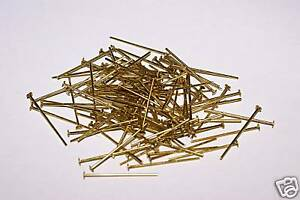Image Is Loading Brass Chandelier Pins 100g 30mm X 1mm For
