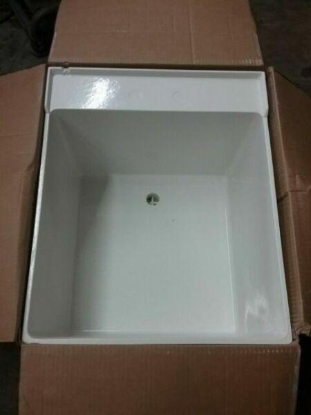 fiberglass wall mount laundry utility
