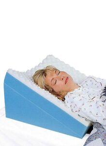 details about wedge pillow twoposition pillow snoring gerd acid reflux sleep apnea pillow