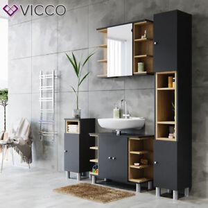 details sur vicco mobilier salle de bain meuble armoire de bain meuble armoire miroir