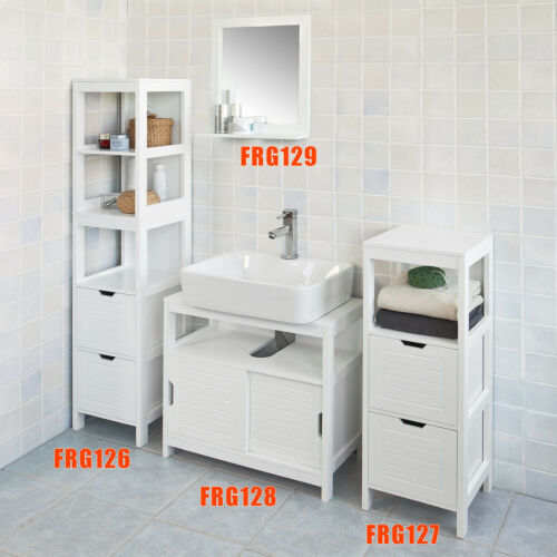mobel wohnen 2 tiroirs frg126 w fr sobuy meuble colonne de salle de bain armoire toilette badmobelsets