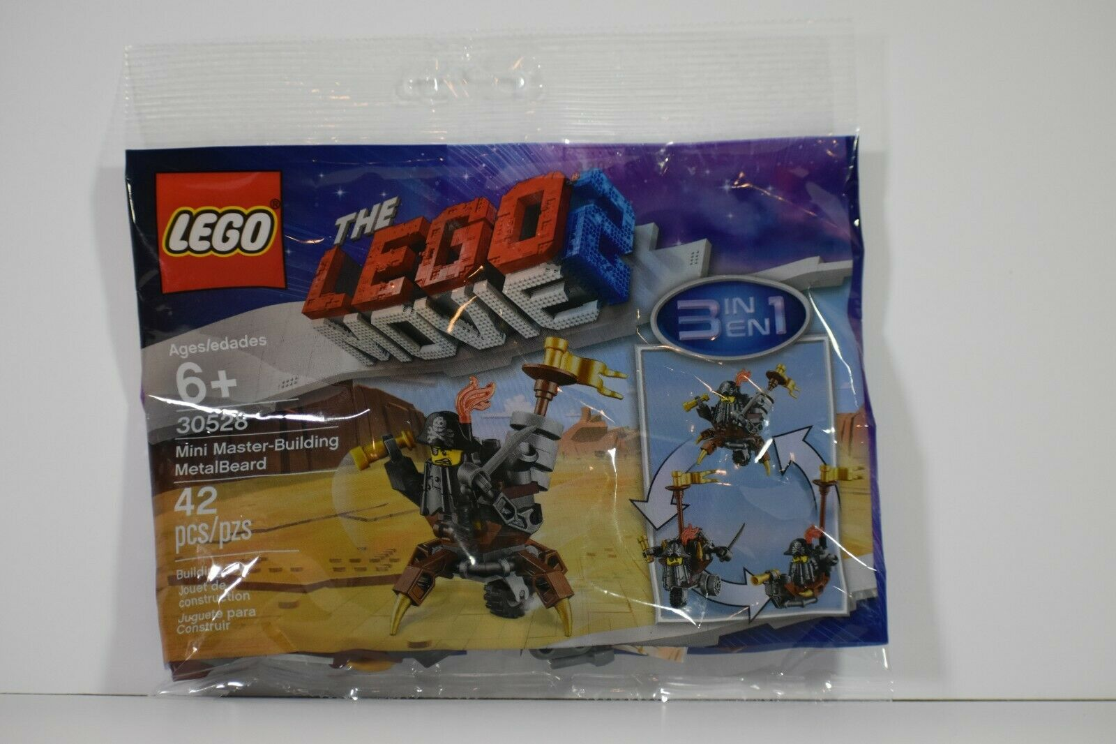 42 pieces LEGO 30528 Mini Master-Building MetalBeard Polybag