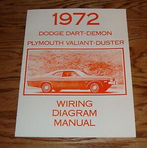 1972 Dodge Dart Demon Plymouth Valiant Duster Wiring