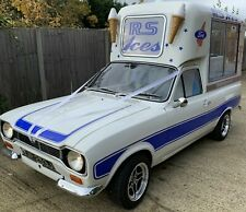 MK1 Ford Escort 1600 Crossflow Classic Ice Cream Van  rarer than rare (food van)