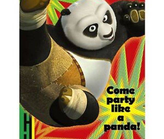 Image Is Loading Kung Fu Panda  Birthday Party