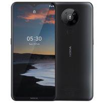 Nokia 5.3 64 GB Smartphone schwarz, Android 10, Dual-SIM, 4fach Kamera