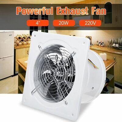high speed exhaust fan toilet kitchen bathroom window glass small ventilator ebay