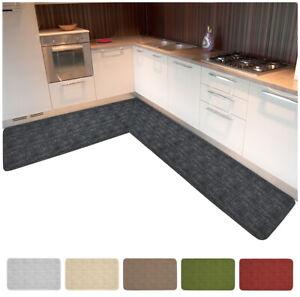 details sur tapis cuisine borde angulaire coureur a longueur ou sur taille mod chalet38