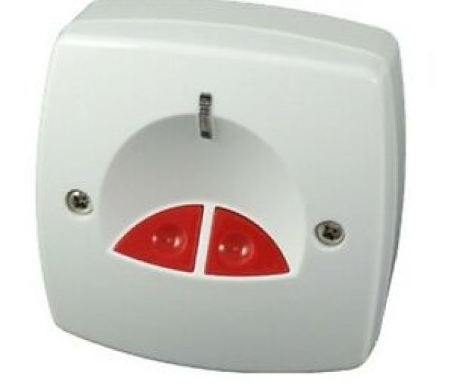 Image Is Loading Cqr White Electronic Panic Button For Alarm Systems