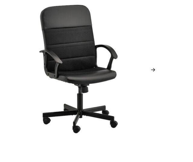 ikea chaise tournante noir pour bureau de travail fauteuil