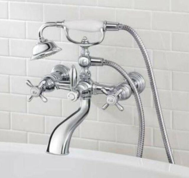 moen weymouth 2 handle wall mount roman tub filler trim kit in chrome