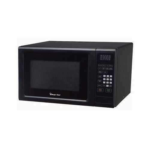 magic chef mcm1110b 1 1 cu ft countertop microwave oven black for sale online ebay