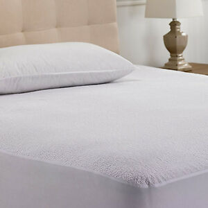Image Is Loading Mattress Protector Queen Size Waterproof Pad Bed Topper