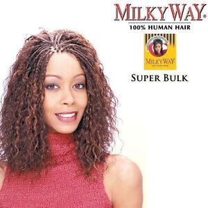Shake N Go Milky Way 100 Human Super Bulk 18 Braiding