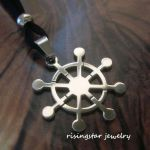 Tibetan Buddhist Wheel Of Life Dharma Stainless Steel Auspicious Necklace For Sale Online Ebay