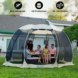 details about pop up party wedding patio tent gazebo canopy market instant shelter 12 x12
