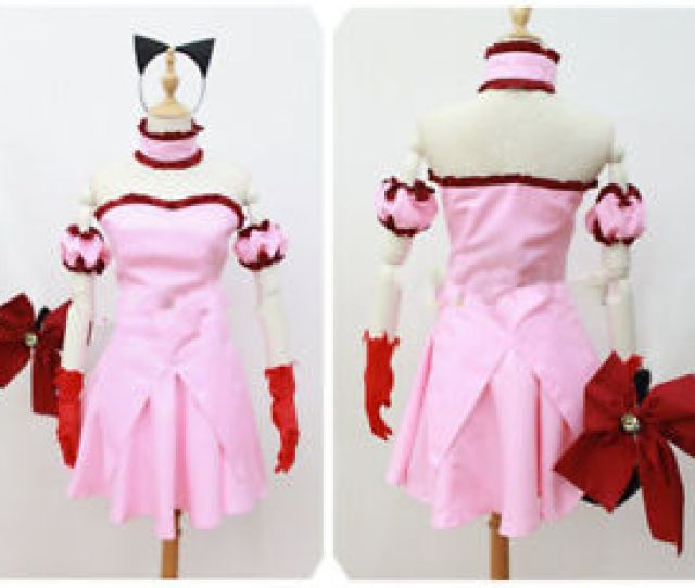 Image Is Loading Hot Tokyo Mew Mew Power Zoey Cosplay Pink