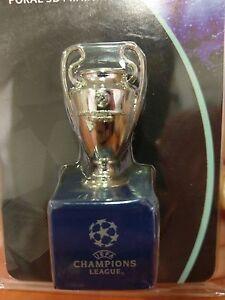 Uefa Champions League 3D Mini Trophy Cup Replica 2016 San ...