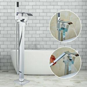 details sur cascade robinet baignoire ilot autoportante mitigeur douchette systeme de douche