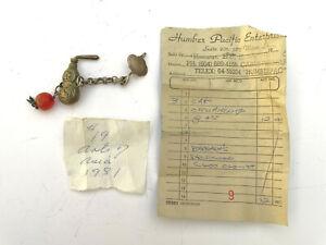 Antique Chinese Sterling Silver Cap Charm Pendant Miniature Bottle - Lot 7